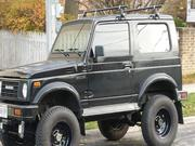1986 SUZUKI samurai Suzuki Samurai Tin Top with great black interior,