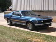 1969 Ford Mustang Mach 1 Track Pack